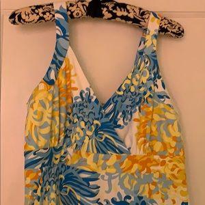 J. McLaughlin Full Length Comfortable Dress